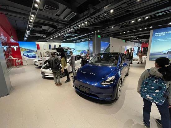 曝特斯拉中国5月订单腰斩新车交付周期缩短部分型号有现车