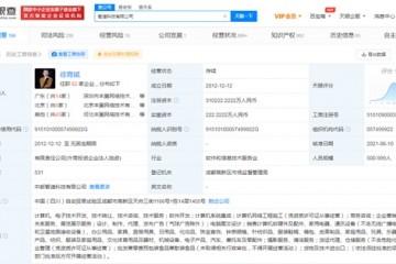 丰巢子公司被强制执行33万